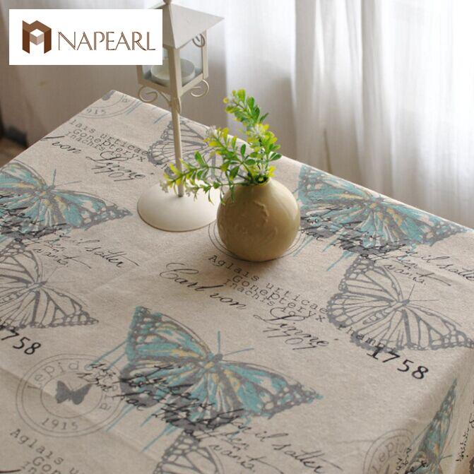 American country retro nostalgia linen tablecloths tea table cloth drape(China (Mainland))