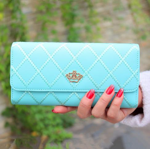 Elegent Fashion Lady Women Clutch Long Purse Leather Wallet Card Holder Handbag Bags Zipper Hasps Passcard Pocket BG054 - xycharm store