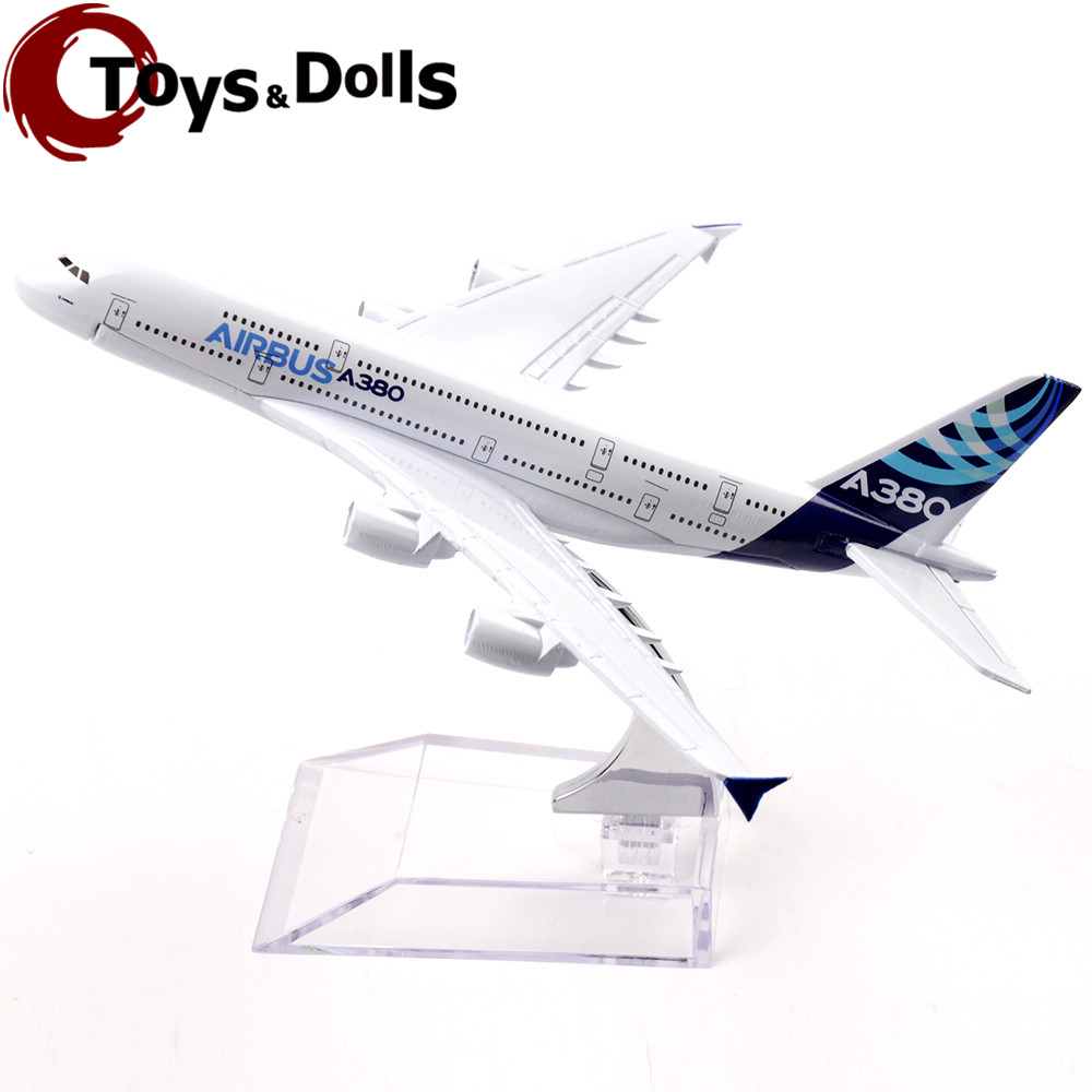 16cm Passenger Air Plane Model Airbus A380 Diecast Alloy Airplane Aircraft Kids Toys brinquedos Collectible Birthday Gifts C(China (Mainland))