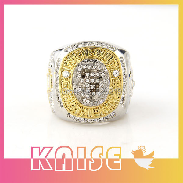 Free Shipping Replica Precise 2010 San Francisco Giants Football Championship Rings Maker(China (Mainland))