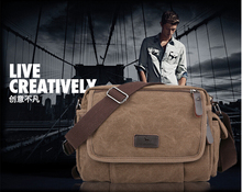2015 New Men Messenger Bags Canvas Vintage Bag Men Shoulder Crossbody Bags for Man Bag Designer Handbags Bolso