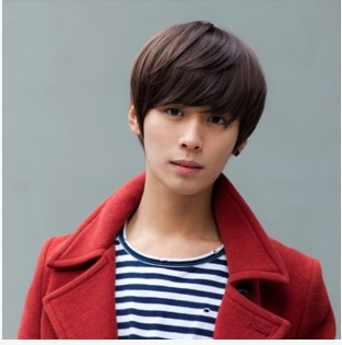 Wig beauty care man's whole suit round-faced wig han edition hair handsome men non-mainstream students(China (Mainland))