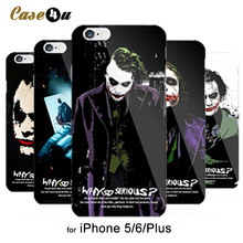 Unique! Batman Dark Knight Joker Karta Print Case for iPhone 5s 5 6 6s Cover caso capa para 6 Designs