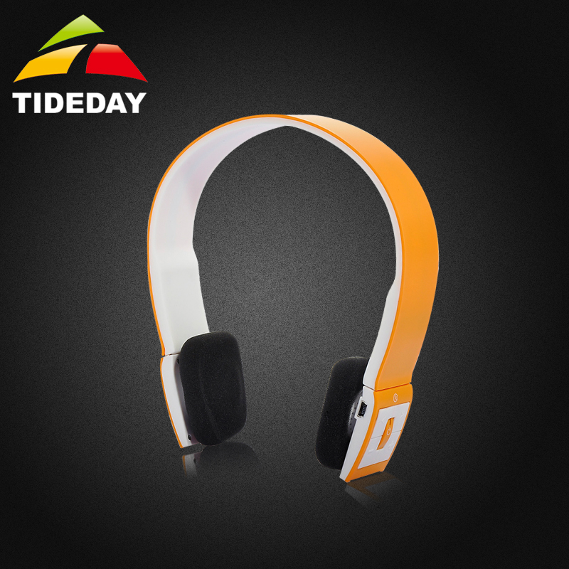2015 NEW TIDEDAY ALD02 Bluetooth wireless headphones with Mic Stereo wireless headset garnish headphones for a mobile phone Gold<br><br>Aliexpress