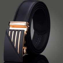 Buy 2017 Brand Belt Genuine Luxury Leather Men Male Metal Automatic 100% Men's Belts Strap Buckle Mens Designer Belts for $10.36 in AliExpress store