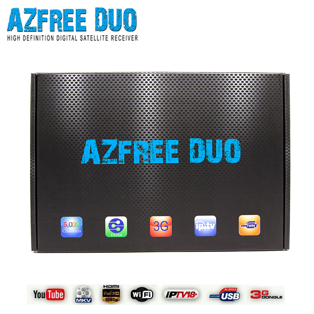 High Definition IKS SKS twin tuner digital receiver Azfree duo for Latin America(China (Mainland))