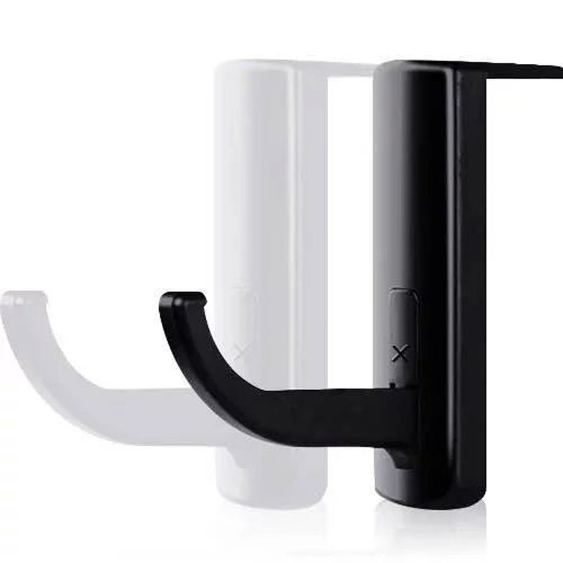 New Headphone Holder Hanger Wall PC Monitor Stand Durable Headphone Accessories Headset Hanger PC Monitor Holder Stand 2 Colors(China (Mainland))
