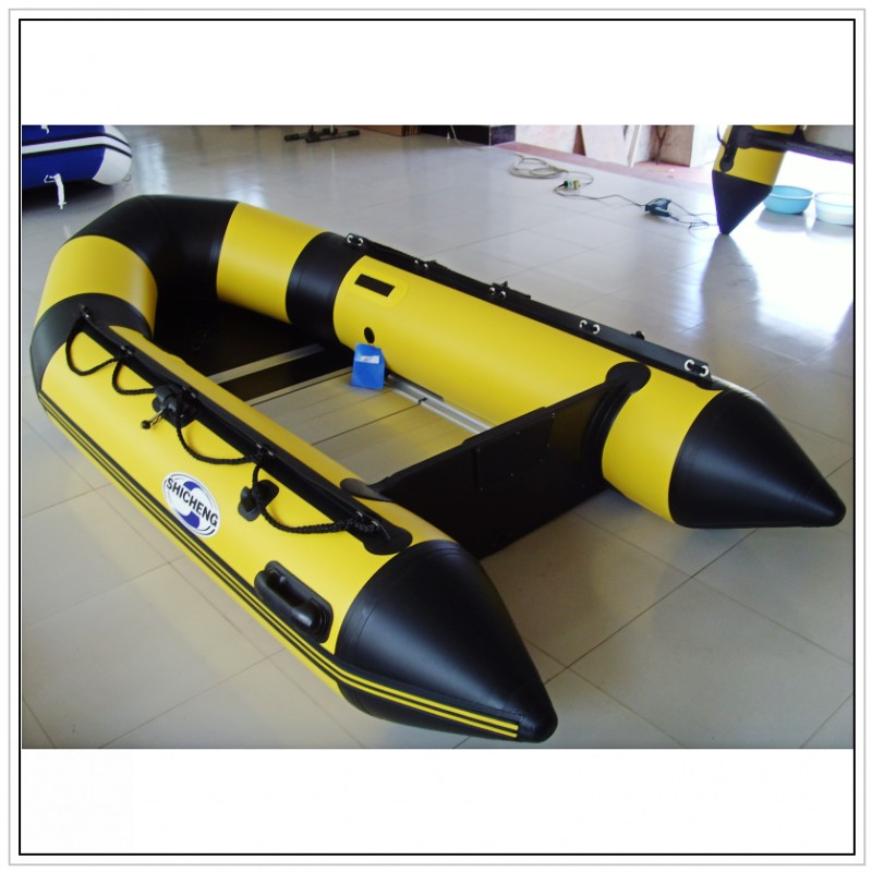 Rubber Boat Cheap Inflatable Boat with aluminium floor(China (Mainland))