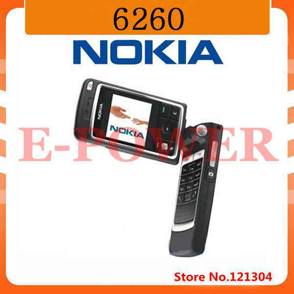 Original Nokia 6260 Bluetooth Mp3 Jave Mobile Phone Wholesale Free Shipping(China (Mainland))