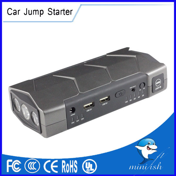 Factory Supply Mini Portable Jump Starter 13800mAh12V Vehicle Engine Booster Battery Charger Cell Phones Power Bank<br><br>Aliexpress