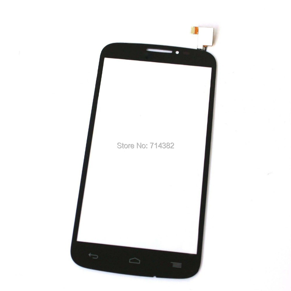 For Alcatel One touch Pop C7 OT-7041 7040 7041D Black Outter Touch Screen Panel Digitizer Glass Lens Repair Parts Replacement
