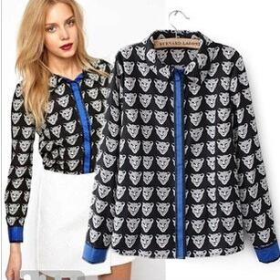 Женские блузки и Рубашки Brand new 7660 2015 Blusas женские блузки и рубашки brand new o sv003597