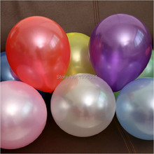 Thicken 12 inch 2.8 g 50 pcs / lot Latex Round Pearls Silver Balloons wedding birthday party supplies kids toys(China (Mainland))