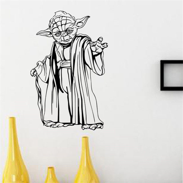 Star Wars Wall Poster with Yoda