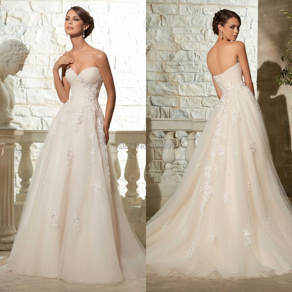 New 2015 cheap bridal dress high quality women formal for Cheap places for wedding dresses