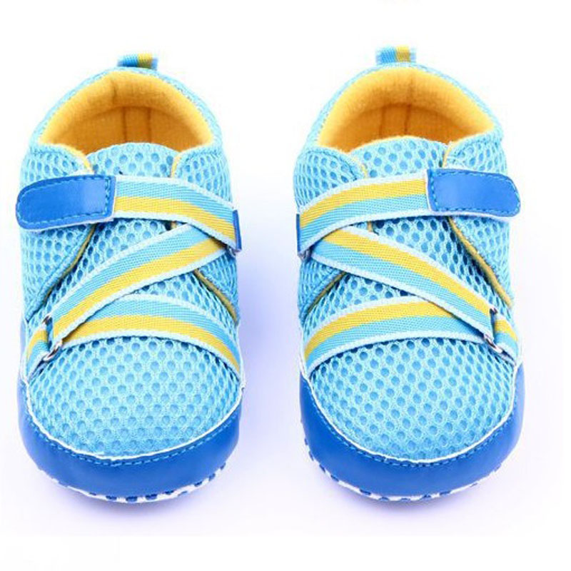 Baby Boys Shoes soft Breathable Air mesh First Walker Kids Boy Sport Sneaker First Walking Shoes For Toddler Boy LH483(China (Mainland))