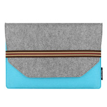 "Brand New 11 "" 13 ""Sleeve Notebook Carry Case Cover Bag For Apple For the Macbook Pro Air laptop Wool Felt Laptop Sleeve"