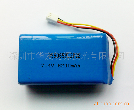 Supply 3.7,7.4 V 8200 capacity polymer lithium battery , 8.5 * 50 * 85<br><br>Aliexpress