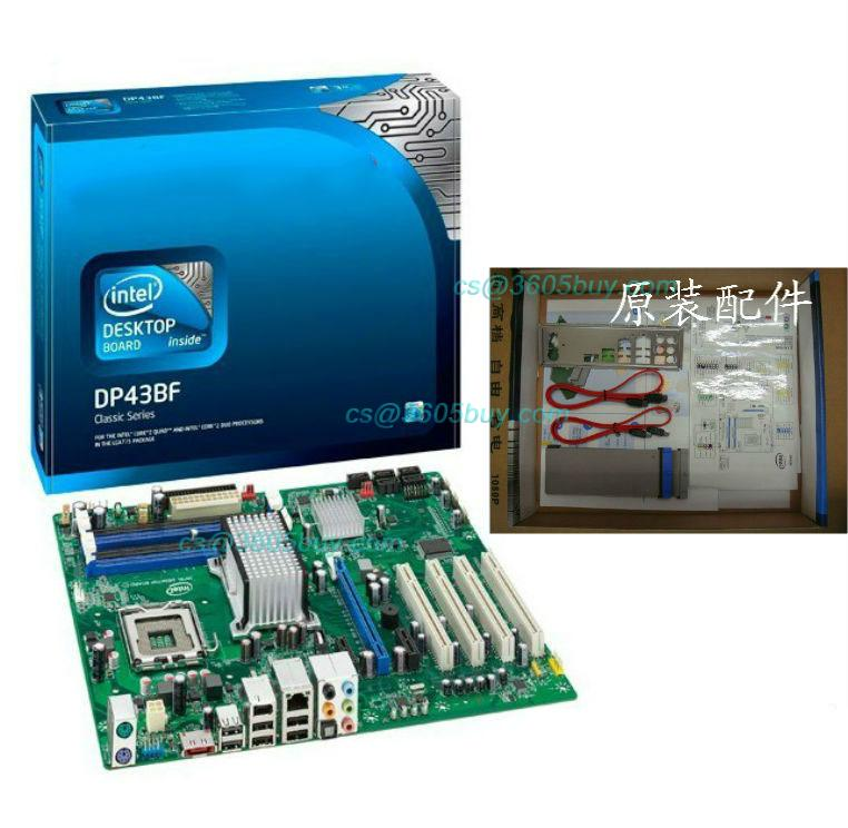 Boxed intel dp43bf motherboard p43 775 ddr3 pci-e independent graphics card<br><br>Aliexpress