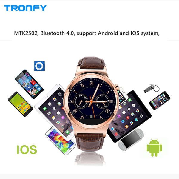 """NO.1 S3 1.22"""" Smart Watch UV Detection Sleep Monitor Pedometer Watch Phone Health Data and message Synchronization f IOS Android(China (Mainland))"""