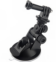 2014 Hot Car Suction Cup Adapter Window Glass Tripod + 7CM Diameter Base Mount f Gopro Hero 2 3 Hero3 Camera Go Pro accessories