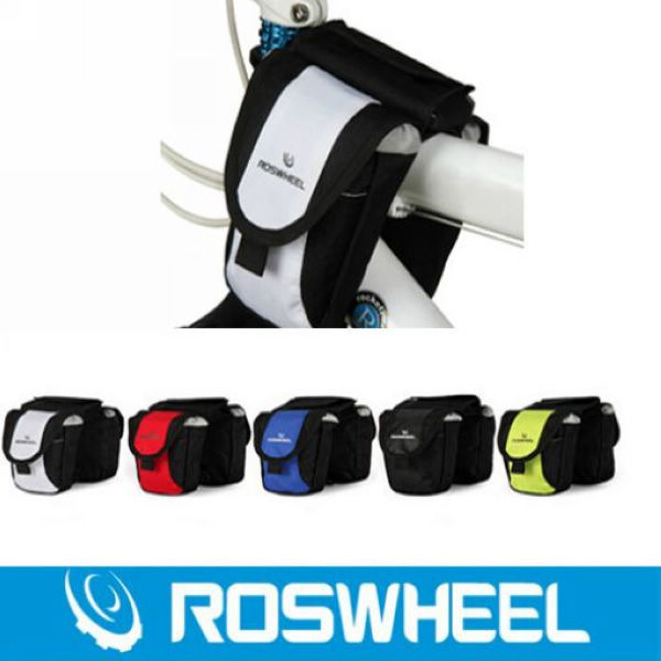 New design !!!Roswheel Bag waterproof Frame Front Tube Bag tube double side bag fit all bikes with PVC hot selling 5Color<br><br>Aliexpress