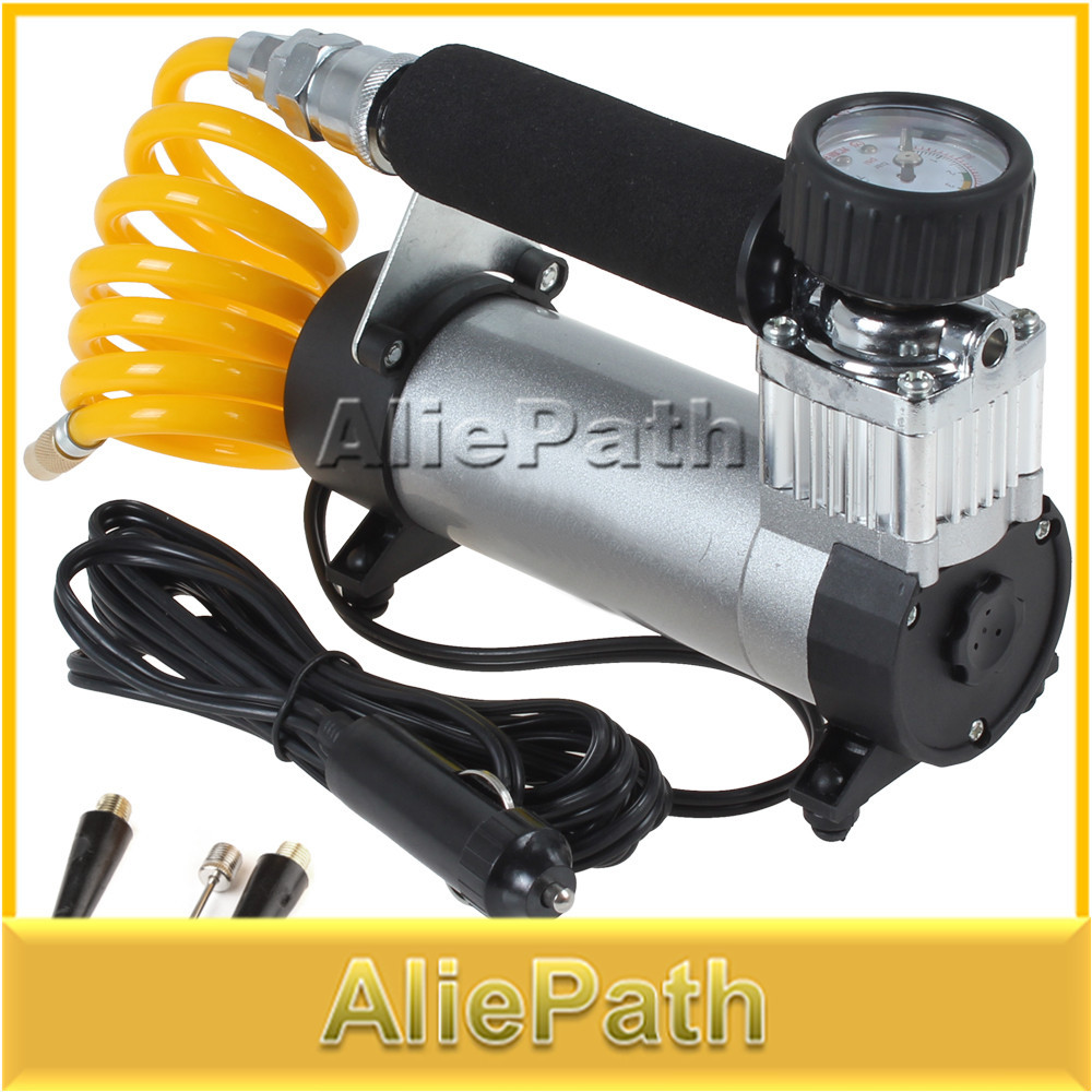 YD-3035 Portable Super Flow 12V 100PSI Auto Tire Inflator / Car Air Pump Car Pumps Car Air Compressor 12V(China (Mainland))