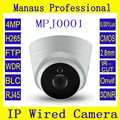 New 2 8mm lens Wide Angle Infrared Dome IP Camera 4 Megapixels IR Cut Motion Detector