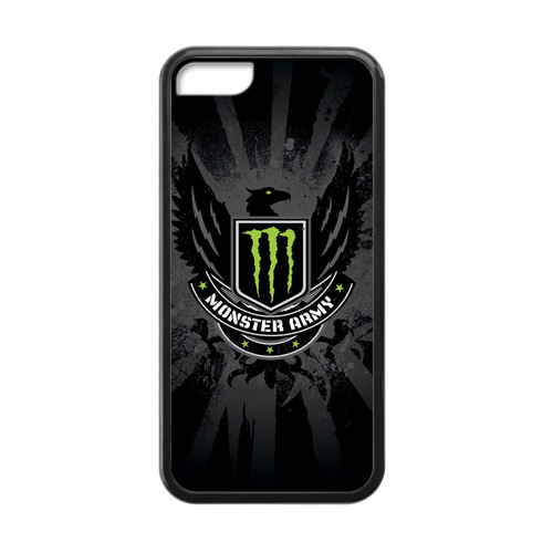 Monster Energys Graphics Case for iPhone 5c Amazing(China (Mainland))