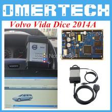 A+ Quality 2014D Volvo Vida Dice Diagnostic Tool Volvo Vida Dice Full Chips EWD Sodtware As Free Gift Free Shipping(China (Mainland))