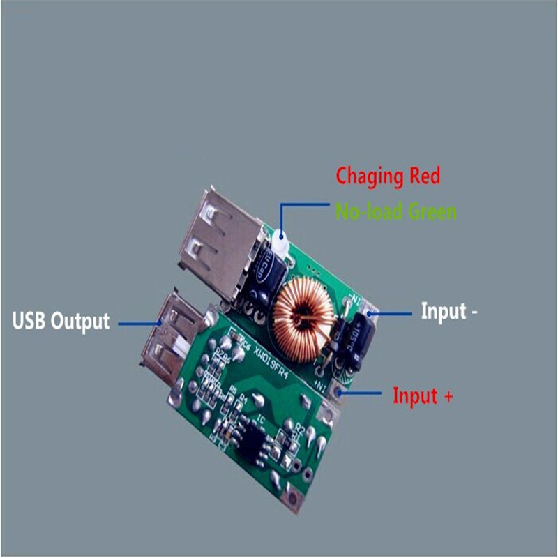 Aliexpress Com Buy 12 16v To 5v Adj Step Down Power Supply Battery Usb Charger Module For