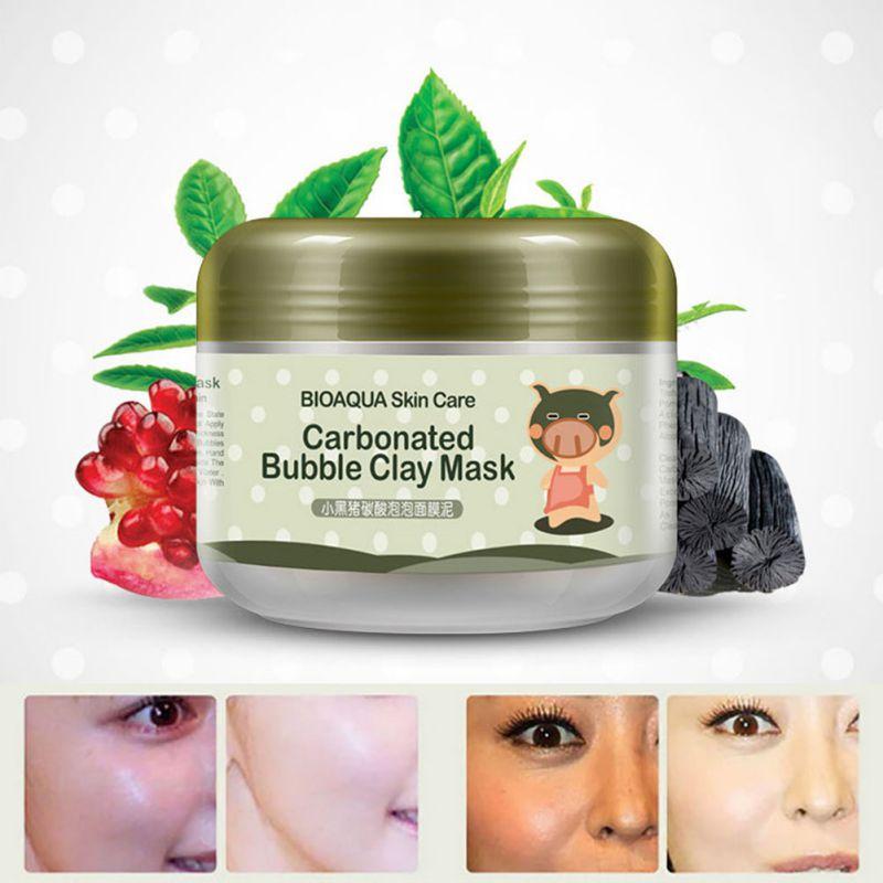 100g Carbonated Bubble Clay Mask Whitening Oxygen Mud Moisturizing Deep Cleanse(China (Mainland))