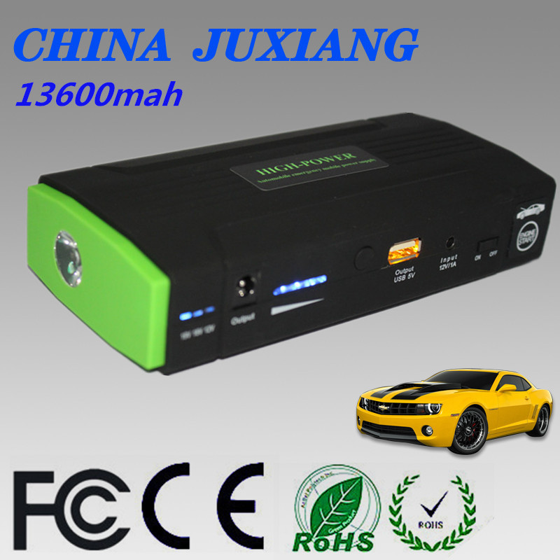 12V Portable Car Jump Starter 13600mAh Car Jumper Booster Power Battery Charger for Mobile Phone Laptop Power Bank<br><br>Aliexpress