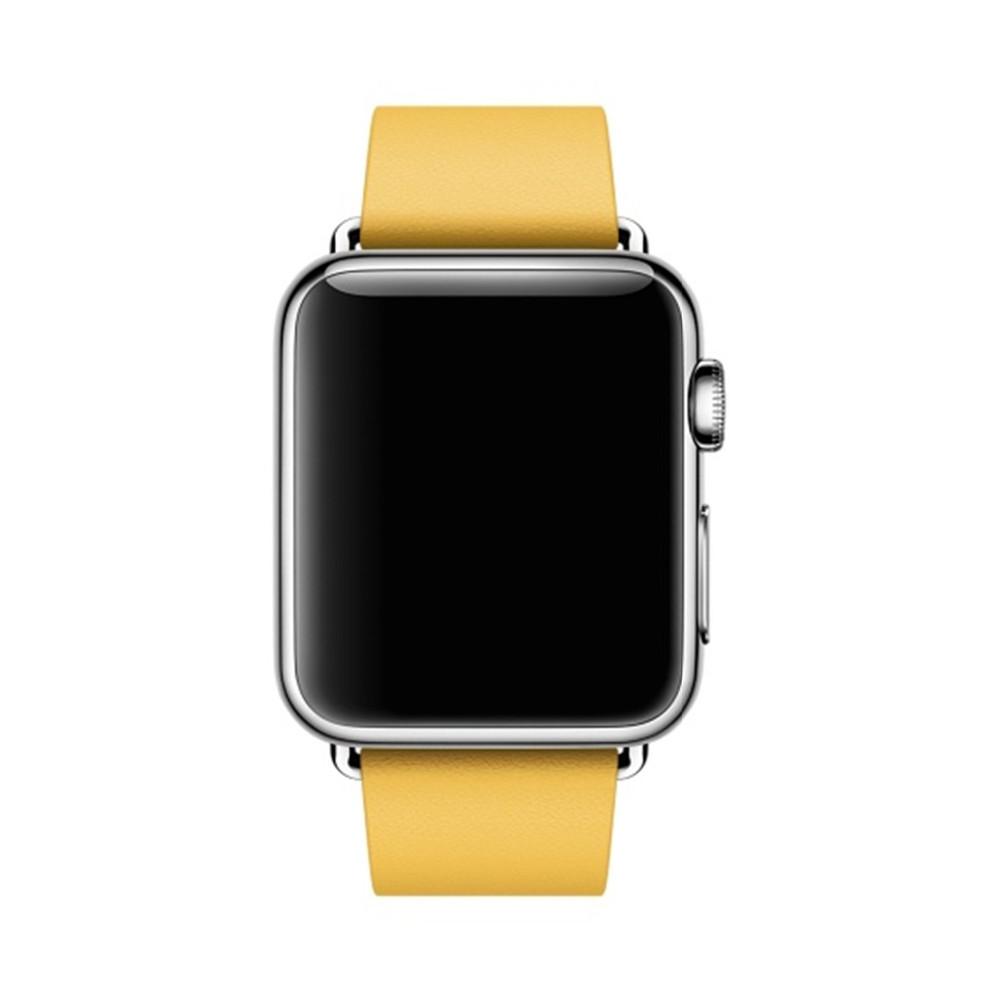 Для Apple Watch Band Современные Пряжка Ремешок для iWatch браслет 38 ММ 42 ММ Гладкий Гранада кожа для apple Watch натуральная кожа