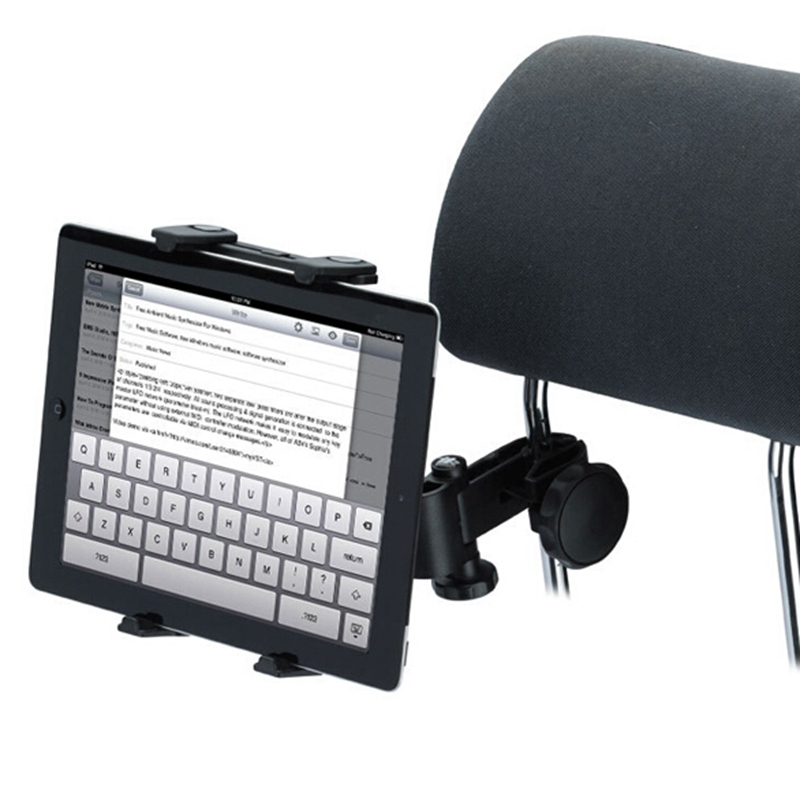 2016 Brand New Universal Car Back Seat Headrest Tablet Mount Holder For iPad 2 3 4 Mini For Samsung Tablet PC GPS Holder Stand(China (Mainland))