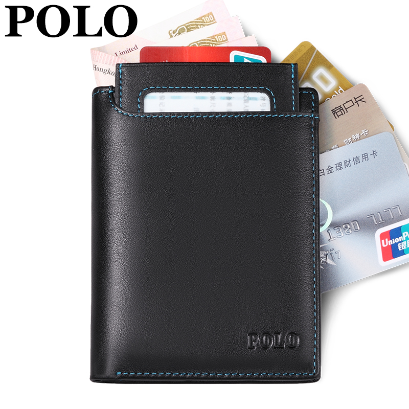 Hot New Fashion Men Wallet Famous Brand POLO Men Wallets , Top Quality Two Colors Men Clutch Double Zip Luxury Men Purse(China (Mainland))