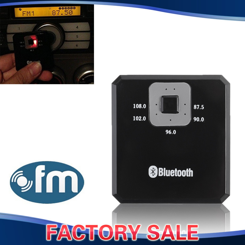 Wireless car audio transmitter