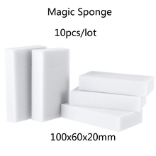 2015 New 10pcs/lot 100*60*20mm  Sponge Eraser Melamine Cleaner Eco-Friendly White Kitchen Magic Eraser Melamine Sponge Magic(China (Mainland))