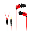 Sem5 Sem6 Bass Computer Monitor Earphone Sports Running Earpieces Handsfree with Mic for Mobile Phone auriculares