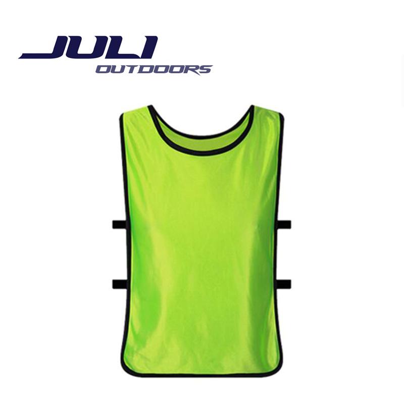 Men's Sportswear Sleeveless Soccer Jerseys Football Vest Training Soccer Training Vest Team Shirts JL328(China (Mainland))