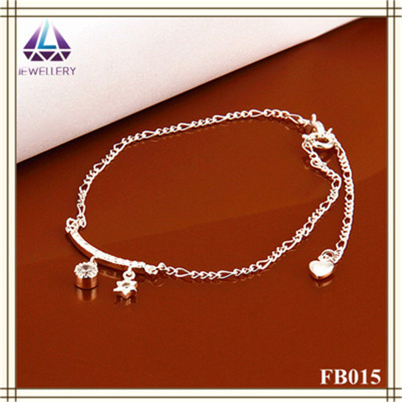 Alibaba hot sale high quality silver design belly dance anklet(China (Mainland))