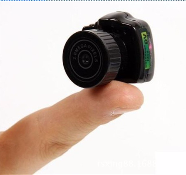 Hot Micro Portable HD CMOS 2.0 Mega Pixel Pocket Video Audio Digital Camera Mini Camcorder 480P DV DVR Recorder Web mini kamera(China (Mainland))