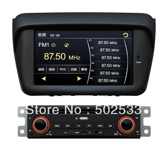 2 Din Car DVD Player GPS Radio Audio For Mitsubishi Pajero sport L200 + RDS + USB + TV + IPod + MFD + SWC  + 3G + 4G Card + Map