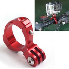 For Gopro Mount CNC Aluminium Bike Motorcycle Handlebar Roll Bar Mount Holder For GoPro Hero 4 3 Xiaoyi SJ4000 Action Camera