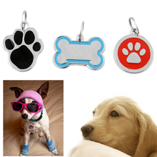 Unique Lovely Anti-Lost Pet Dog Cat ID Tags Stainless Steel Name Phone Number 3 Types Randomely Xmas(China (Mainland))
