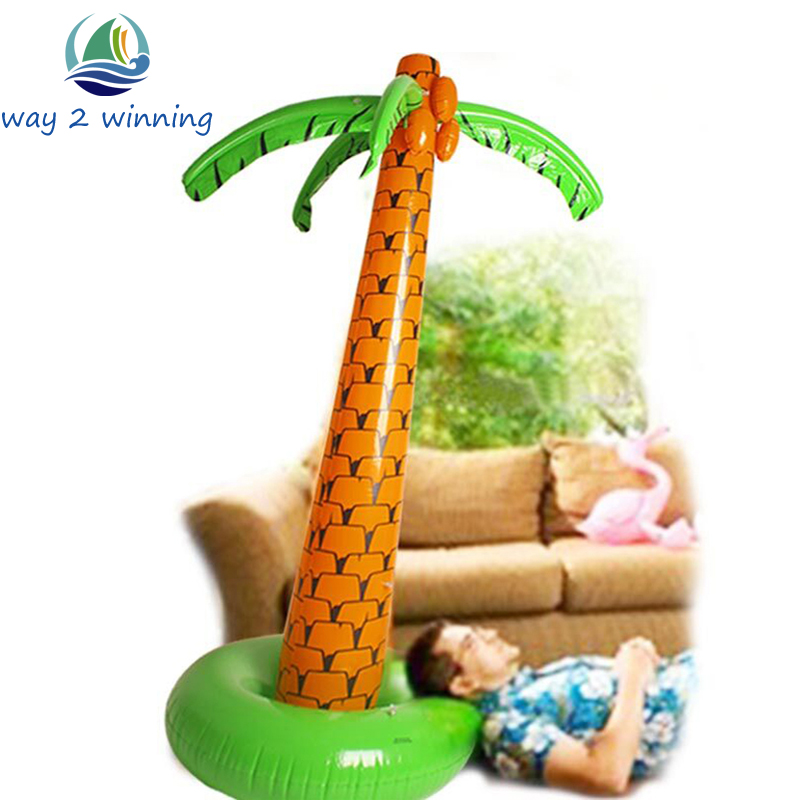 1.6M 1.8M Stand Up Giant Inflatable Hawaiian Palm Tree Ballons Party Decoration Boxing Day Supply Hot Helium Ballon Mariage Hot(China (Mainland))