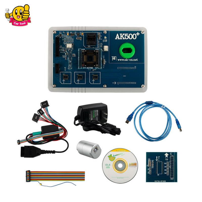 Promotion 2016 latest full set AK500+ Key Programmer with EIS SKC Calculator ak500 Key programmer without database hard disk(China (Mainland))