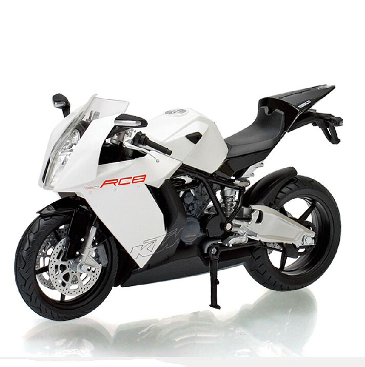 Alloy diecast Motorcycle model RC8 1:12 high speed racing motorbike cross-country car collection gift toy(China (Mainland))