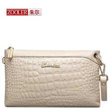 ZOOLER Марка женщины посланник сумки из натуральной кожи сумка моды Роскошь высокого качества сцепления сумки Сплошной цвет бесплатная доставка #265(China (Mainland))