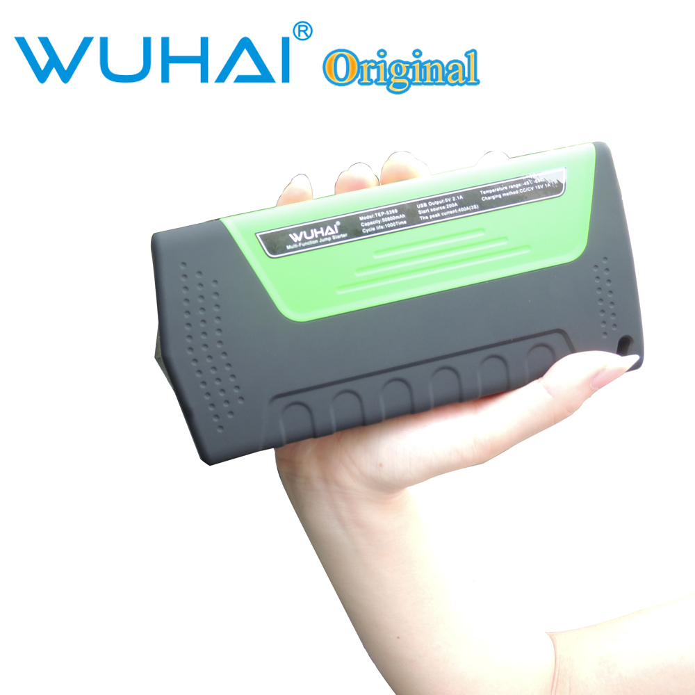 50800mAh WUHAI Car jump starter High power capacity battery source pack charger vehicle engine booster emergency power bank(China (Mainland))
